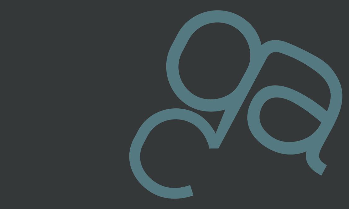 GCA Logo Design