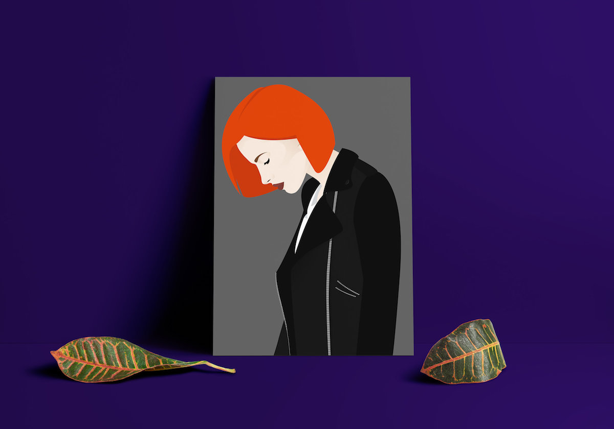 Hayley Williams Illustration