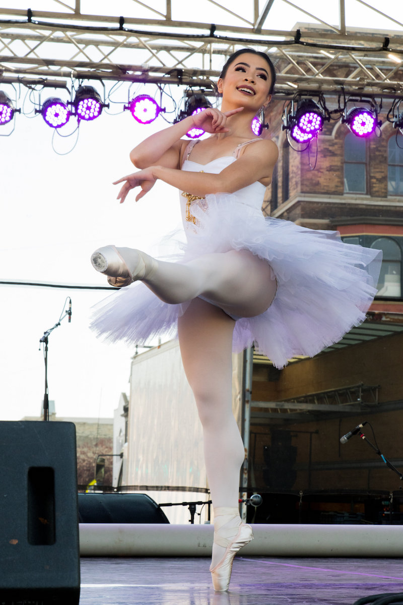 Milwaukee Ballet at Walker's Point 5th Street Festival