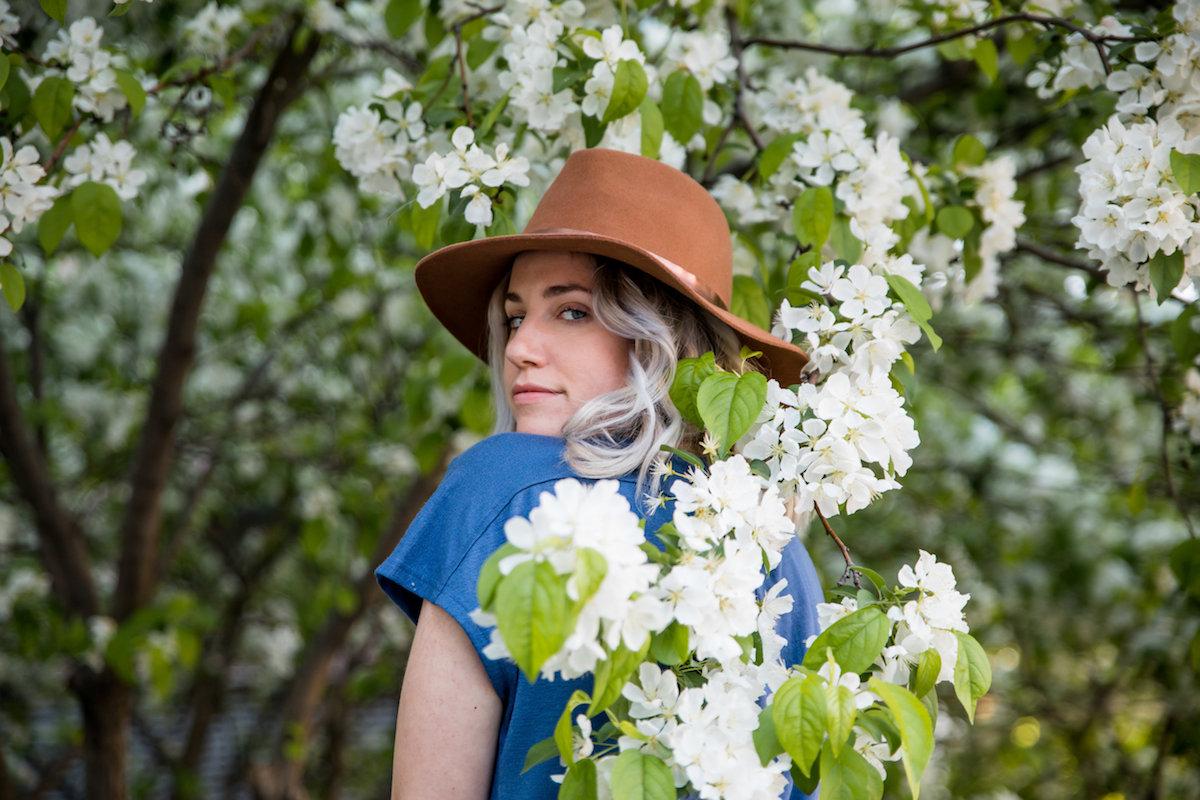 Pear Portrait Blossoms