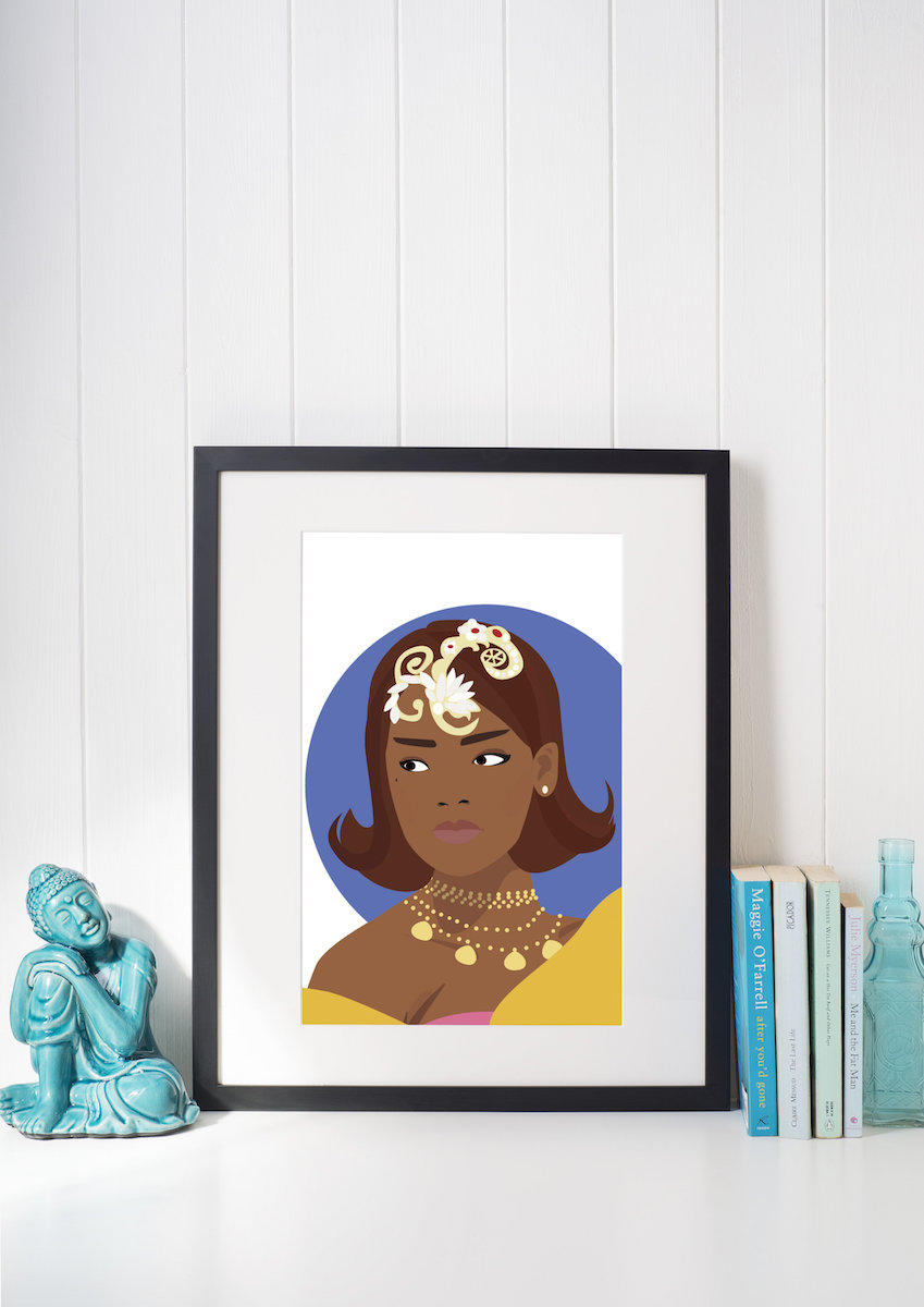 Rihanna Illustration