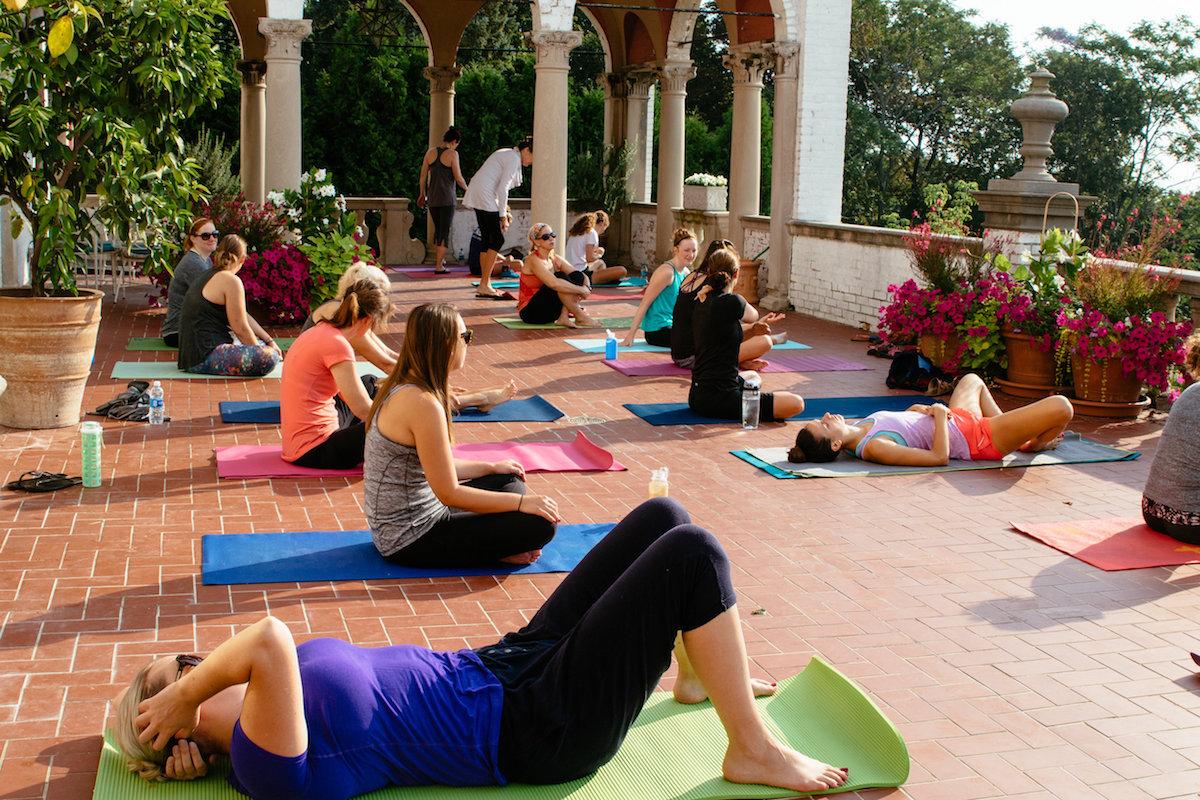 Villa Terrace Yoga