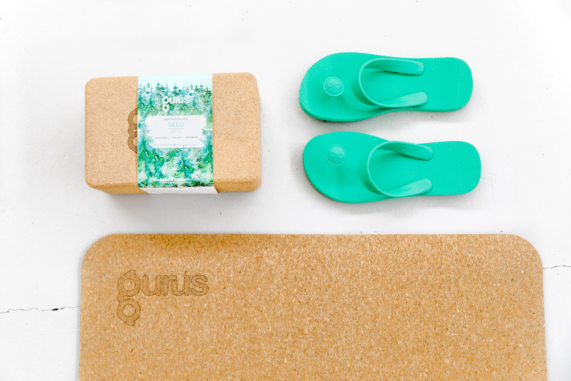 I love Gurus, Product photography, Austin product photographer, austin commercial photographer, yoga photographer, austin yoga photographer, Studio K10, flip flops