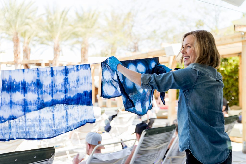 alt summit, altitude summit, alt summit photographer, palm springs photographer, austin event photographer, studio k10, ace swim club, indigo dyeing, miranda anderson, alt summit speakers